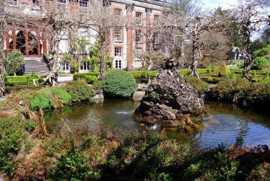 der Teich am Bantry House