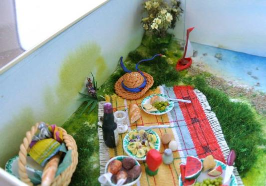 Miniaturen in Dosen -  Picknick