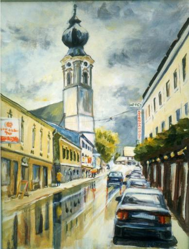 St.Georgen in Acryl,