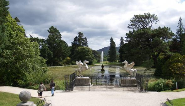 Seerosenteich in Powerscourt