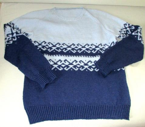 Buttinette Wolle - Pullover nach Buttinette Anleitung